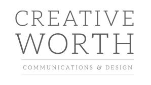 Creative Worth Communications & Design logo