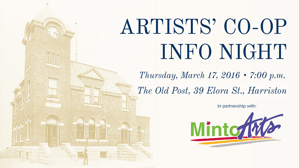 Want to see local art inside The Old Post?Join us March 17!
