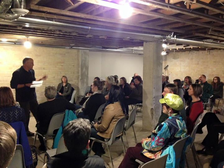 Next Artists' Co-op Gallery Meeting: May 5