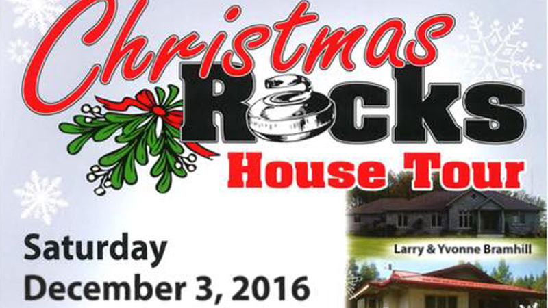 Visit the Old Post on the Harriston Curling Club Christmas Tour