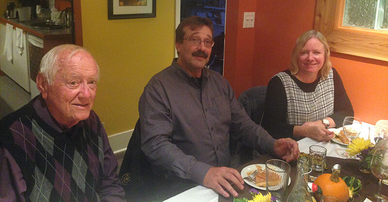 people dining at south street cafe harriston