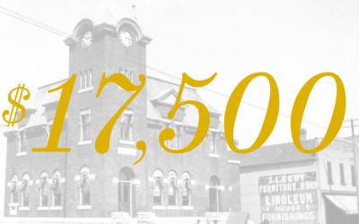 $17,500 Fundraising Goal Achieved!