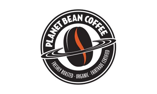 planet bean coffee logo