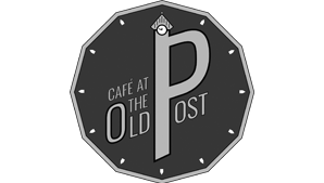 cafe at the old post logo